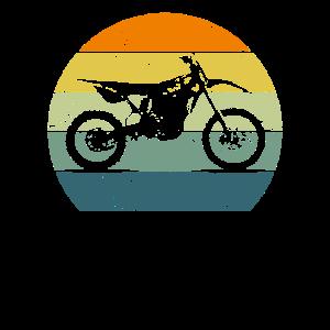 Dirt Bike Motocross Motorcycle Vintage Retro Moto