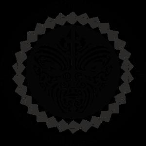 T-Shirt mit Maorie Gesicht Tattoo bedrucken