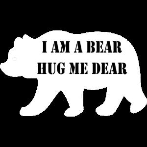 Eisbär Geschenk Umarmung
