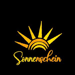 Sonnenschein - Sommer Sonne Sonnenstrahlen