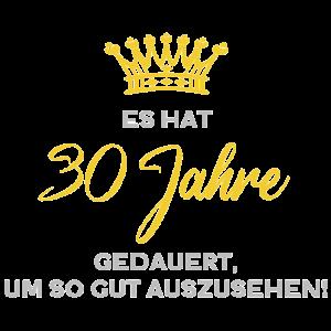 Geburtstag 30 Jahre