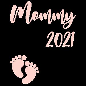 Mommy 2021 Schwangerschaft schwanger Baby Party