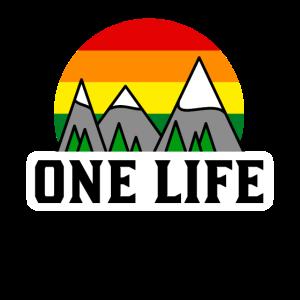 One life Wandern Outdoor Natur