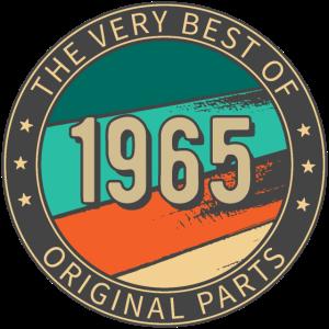 Birthday 1965 THE VERY BEST OF Original Parts