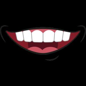 Gesichtsmaske Mund Lachen Maske