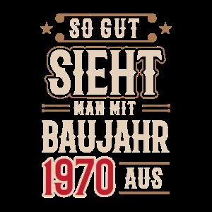 50. Geburtstag November Mann Baujahr 1970