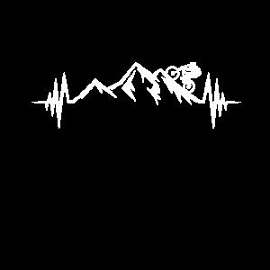 Mountainbike Heartbeat Mountainbiker