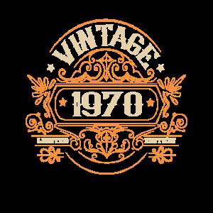 1970 Gebutstag Vintage Geschenkideen