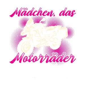 Motorrad Motorradfahrerin Süß Lustig Geschenk