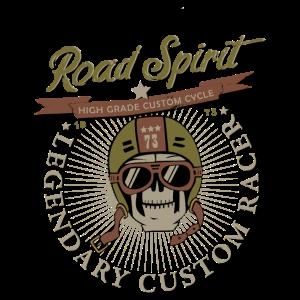 Road spirit - legendary custom racer, motorcycle