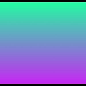 Regenbogen Farbverlauf Türkis Grün Lila Violett