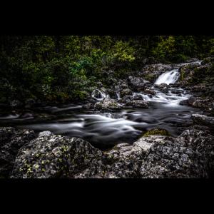 Bach in der wilden Natur Norwegens