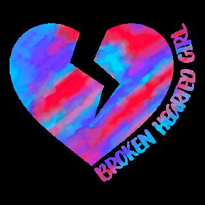 Liebeskummer Liebe Traurig Broken Hearted Geschenk