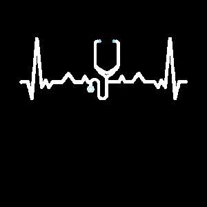 Doktor, Krankenschwester Stethoskop Herzschlag Geschenk