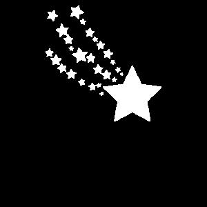 Sterne Sternschnuppe Sternchen selbst gestalten