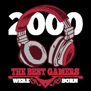 Gamer Zocken 2000 Geburtstag Geschenk Gaming