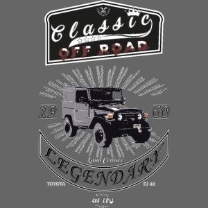 Classics Off Road FJ40 1960
