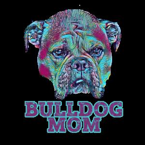 American Bulldog Head Vintage