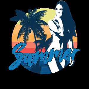 Summer Beach Girl Dream