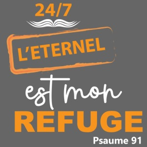 24 7 eternel mon refuge orange blanc