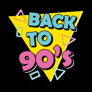 Back to 90s 80s Rocks VHS, NeonCassette Tape