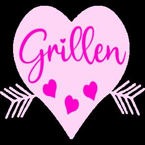GRILLEN GRILLERIN GRILL GRILLSAISON CAMPINGPLATZ