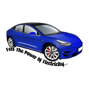 Model 3 (deep blue metallic)
