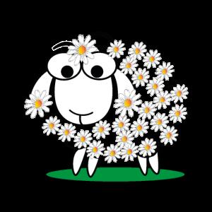 Schaf und schlafshirt Wolle Geschenk Lamm Tier