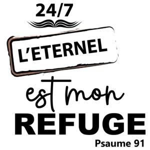 247 Éternel mon refuge en noir