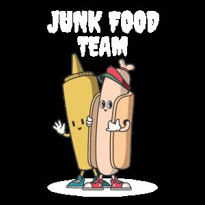 Team Hotdog Senf
