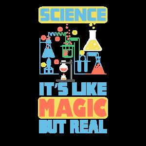 Wissenschaft es ist wie Magie, aber real