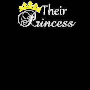 Familienkönig Ihre Prinzessin Königliche Familie