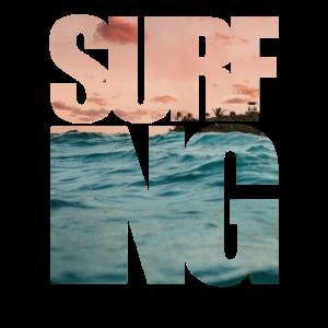 Surfing Surfer Style Geschenk Beach Kitesurfing