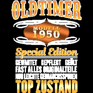 Oldtimer 1950 71 Jahre Geburtstag Geschenk