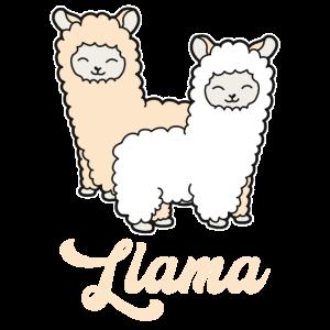 Baby Lama Alpaka Niedlich