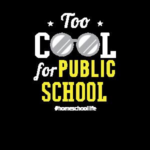Homeschooler Homeschool zu cool für öffentliche Schule