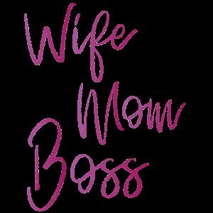 Wife Mom Boss Dress