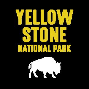 Bison-Retro im Yellowstone-Nationalpark