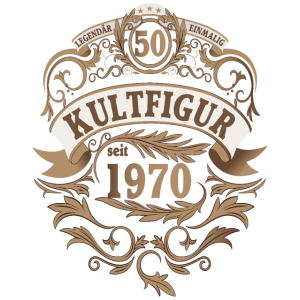 Geschenk 50 Jahre zum 50. Geburtstag Jahrgang 1970