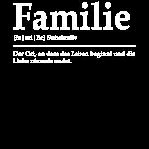 Familie Familienmitglied Wörterbuch