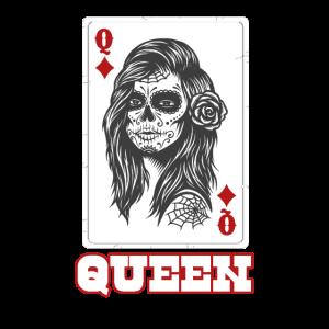 Queen Card Caro