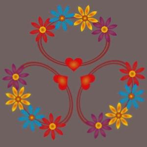GBIGBO zjebeezjeboo - Flower - Threesome ring