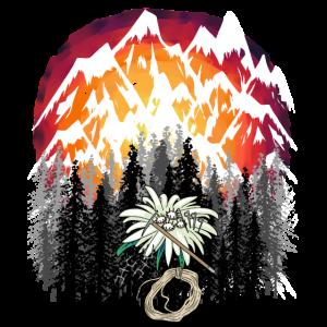 Gebirge Bergsteiger Extremsport Urlaub Alpen