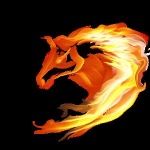 Flammenpferd