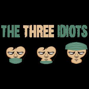 Three Idiots   Drei Idioten   Maske tragen