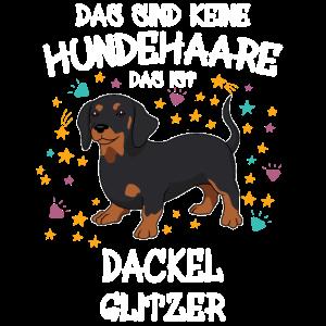 Dackel Glitzer Hunde Hundehalter Geschenk
