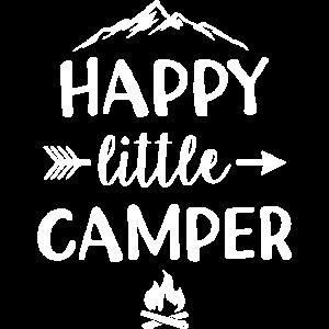 Happy Little Camper Kinder Camping Geschenk Kind