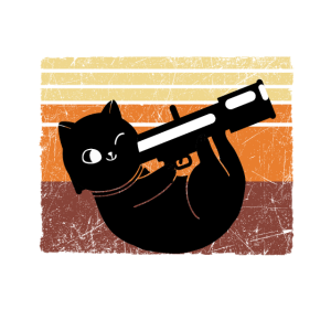 PEW PEW MADA......AS! Lustige Katze mit Bazooka
