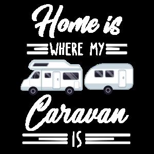 Home is where my caravan is