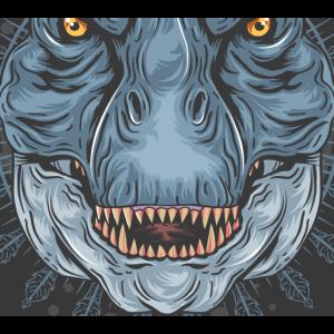 Trex Dinosaurier Jurassic Fossil Animal Scary Wild